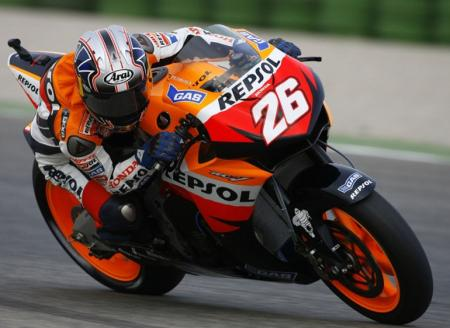 Tercera pole consecutiva de Dani Pedrosa