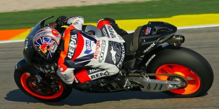 Pedrosa estrena la nueva RC212V 2008