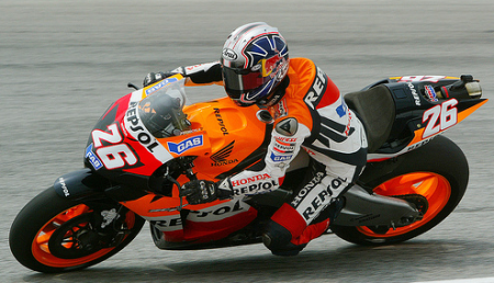 Dani Pedrosa Sub-Campen del Mundial de MotoGP 2007