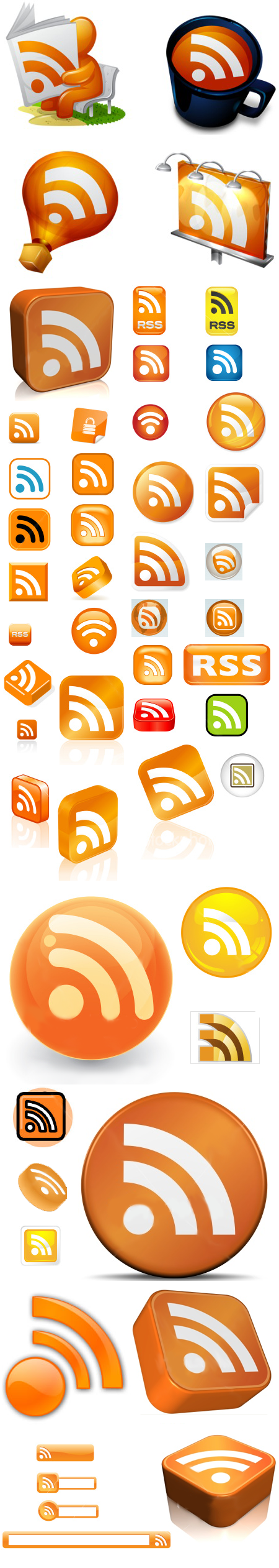 Iconos RSS para tu feed