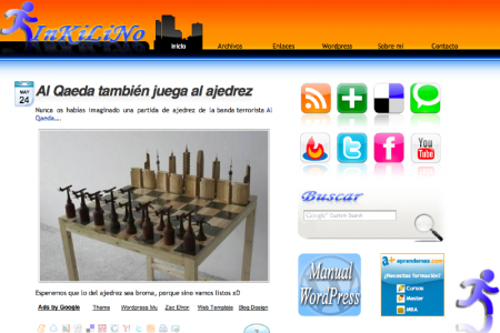 Nuevo theme de WordPress